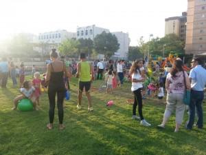 ספורטיבי בפארק