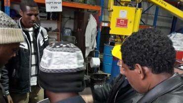 סיור במפעלים - חשיפה לתעשייה