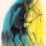 יוסי אבולעפיה, במדבר פרק כב, פסוקים כא-כב