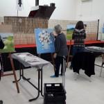 חוג ציור מבוגרים בהדרכתו של האומן פרביז ווסוק