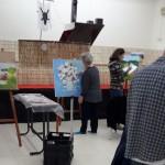 חוג ציור מבוגרים וגימלאים בהדרכתו של האומן פרביז ווסוק