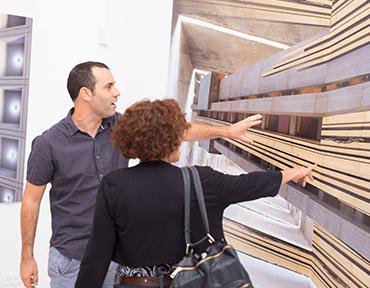תערוכת חלומות מבטון - אירוע פתיחת התערוכה
